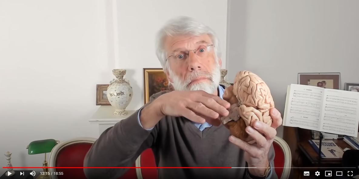 Screenshot video Waarom krijg je stress van thuiszitten van Erik Scherder