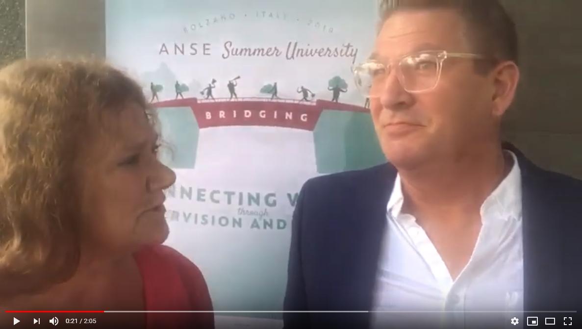 ANSE Summer University 2019 - vlog 2: interview met ANSE bestuurslid Reijer Jan van 't Hul